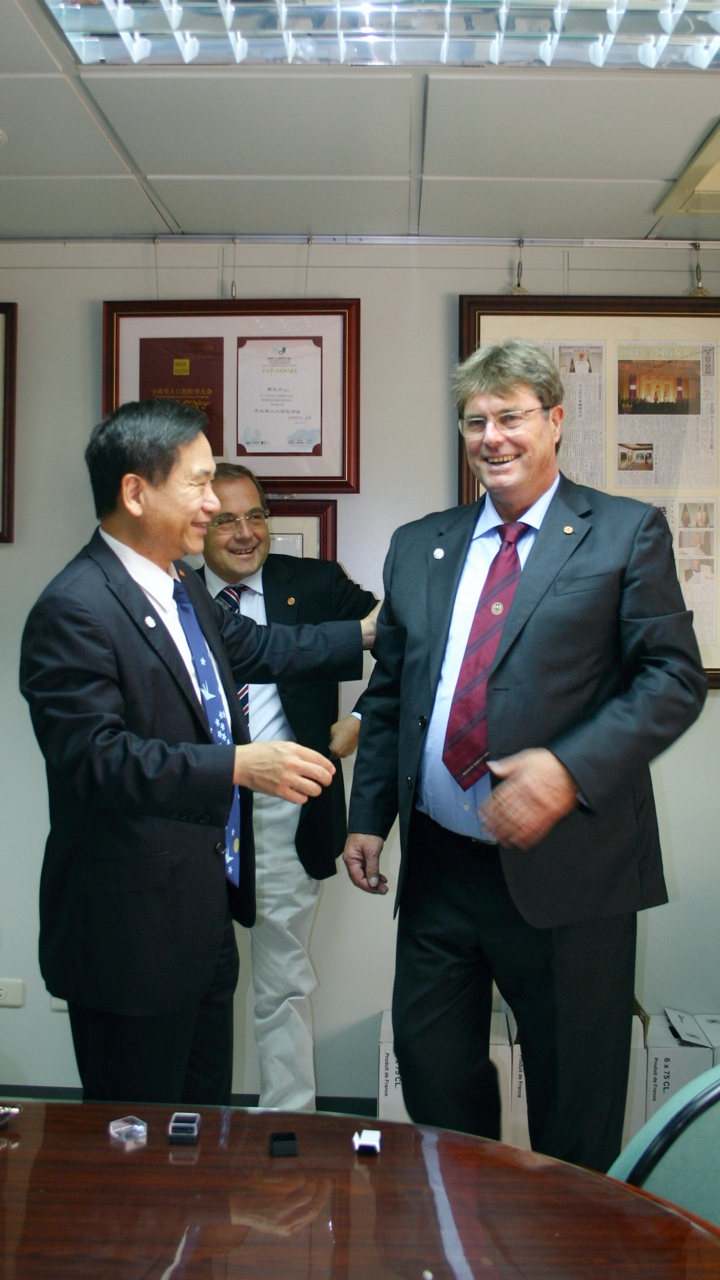 Alfred Hans Resch - Chung Shan Medical University Taichung City Taiwan certification